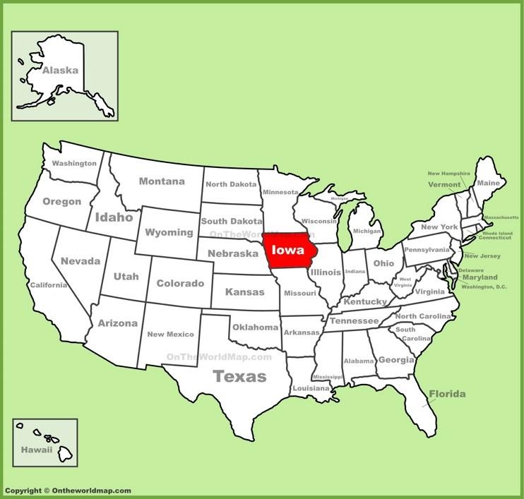 アイオワ州と、アイオワ州の大学を知ろう | アメリカの50州を知る