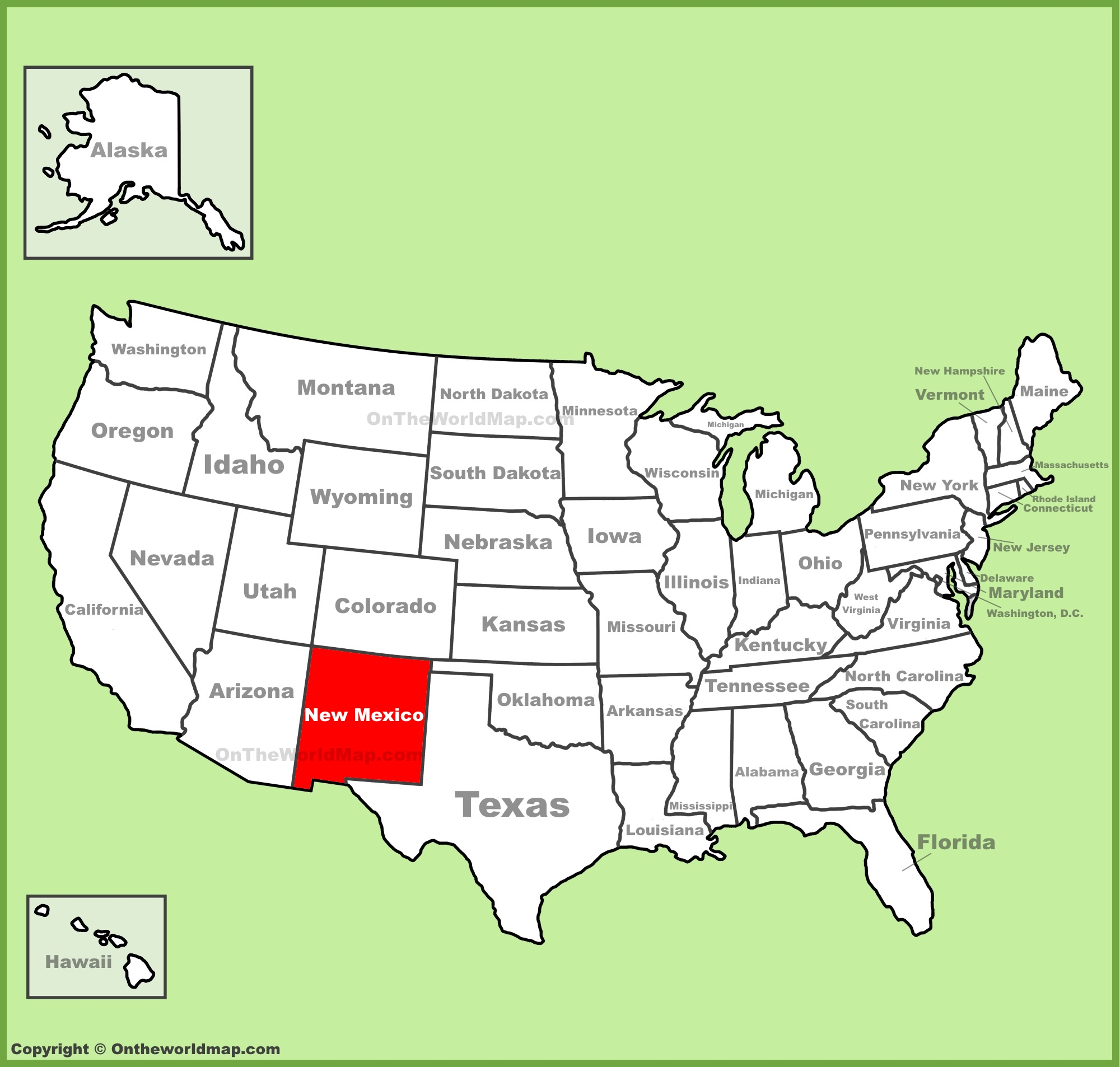 ニューメキシコ州と、ニューメキシコ州の大学を知ろう|アメリカ大学 ...