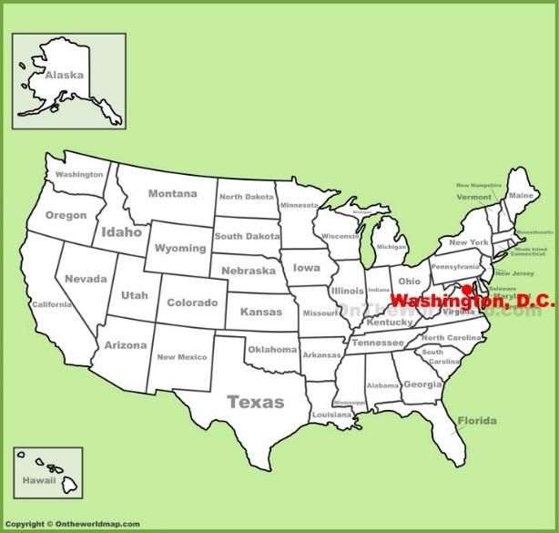 ワシントンDCと、ワシントンDCの大学を知ろう | アメリカの50州を知る