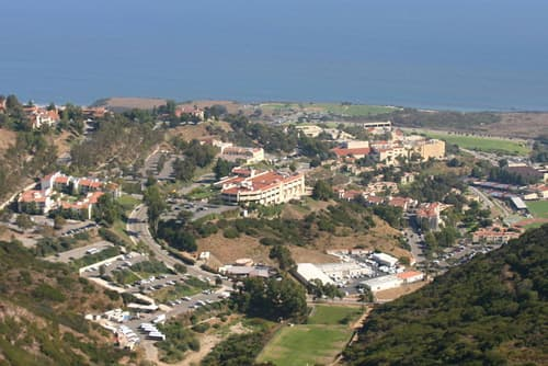 Pepperdine University campus